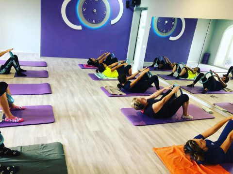 A lezione di Pilates
